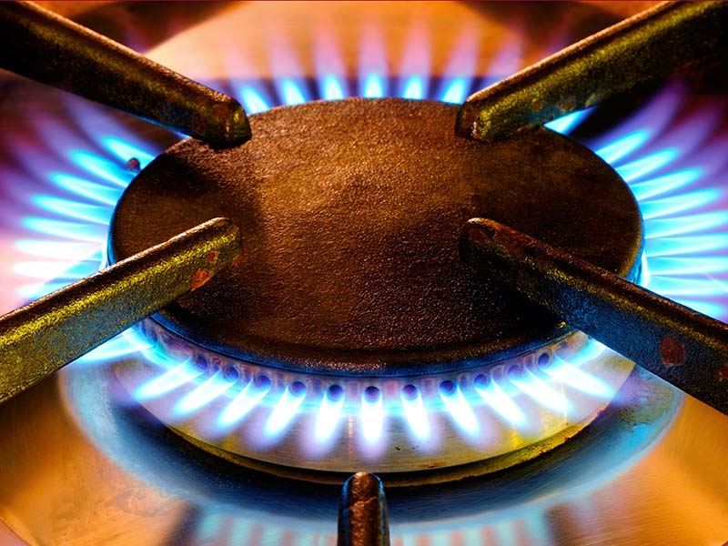 gas fitting or repair
